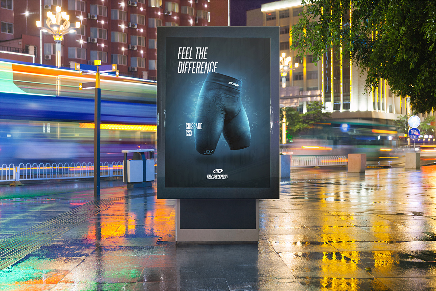 Mockup billboard Advertising BV Sport